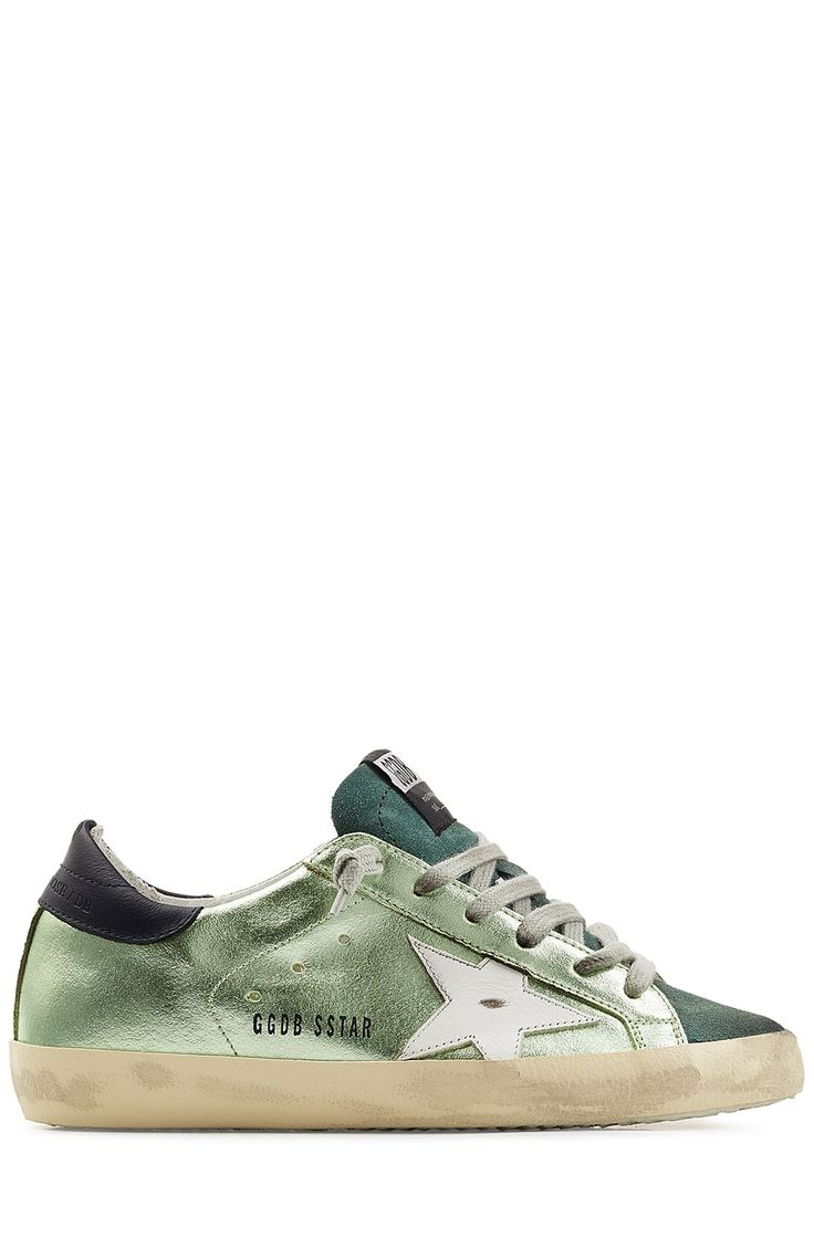 Golden Goose Womens Mid Star High-top Canvas Trainers - Golden Goose Outlet
