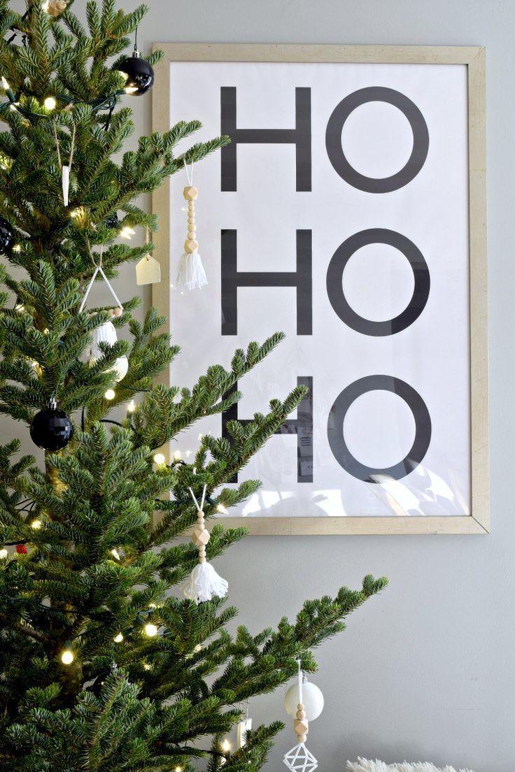 Free Modern Minimal Christmas Prints Houseologie Christmas Prints Minimalist Christmas Decor Minimal Christmas
