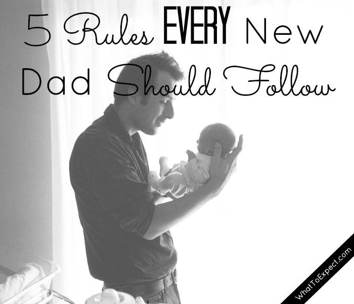5 things a new dad should do once Mom and baby come home from the hospital