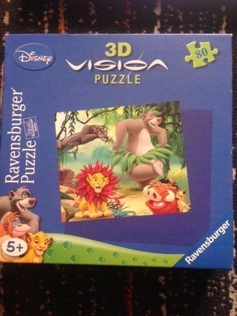 3 D Puzzle von Ravensburger  The Lion King  ab 5 Jahren