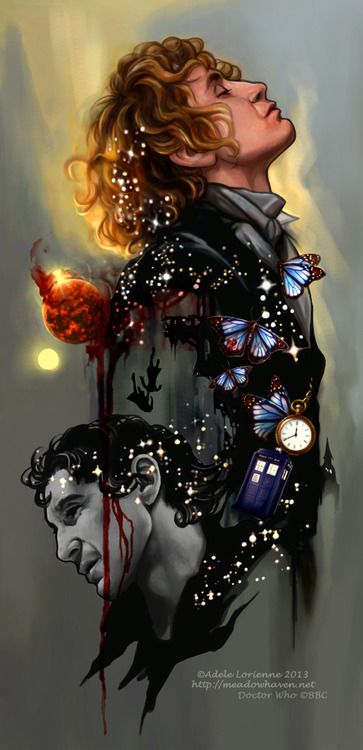 """""""Physician heal thyself"""" - the Eighth Doctor -- This is incredibly beautiful!! I <3 <3 this so much!"""