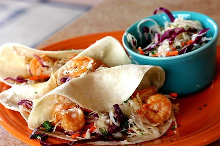 Shrimp Tacos with Sweet