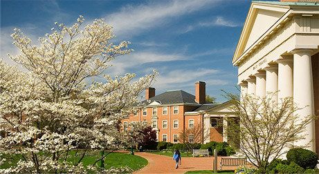 Wake Forest University. Winston-Salem, North Carolina. Lovely campus. America the Beautiful campuses.
