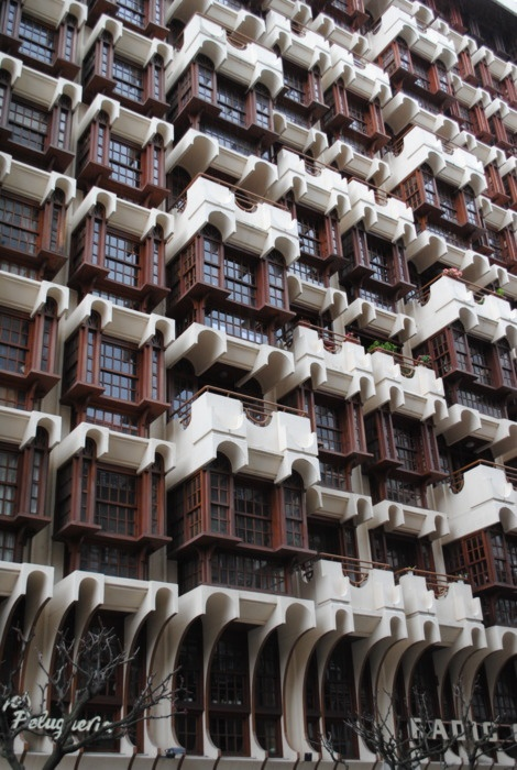 Oddly interesting apartments, ourense, spain.
