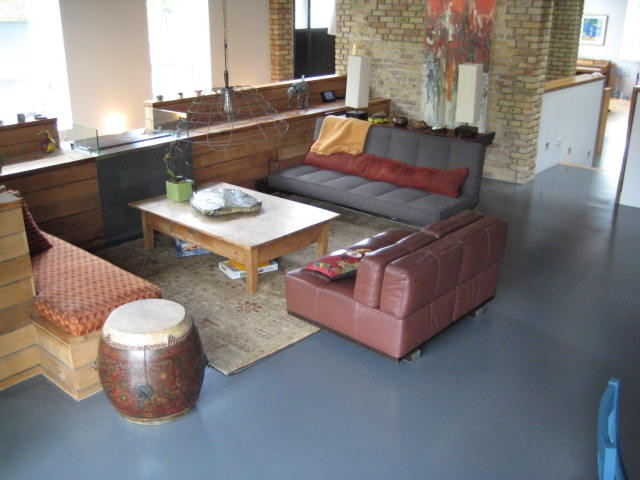 Epoxy Flooring Solid Color