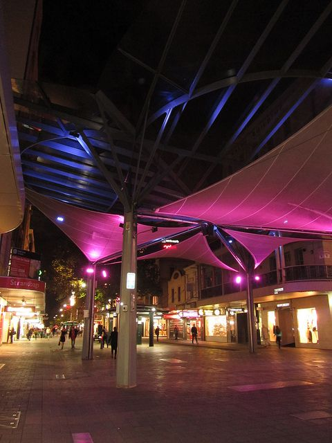 Rundle Mall, Adelaide, Australia. One of my favorite hang-outs from my teen years!