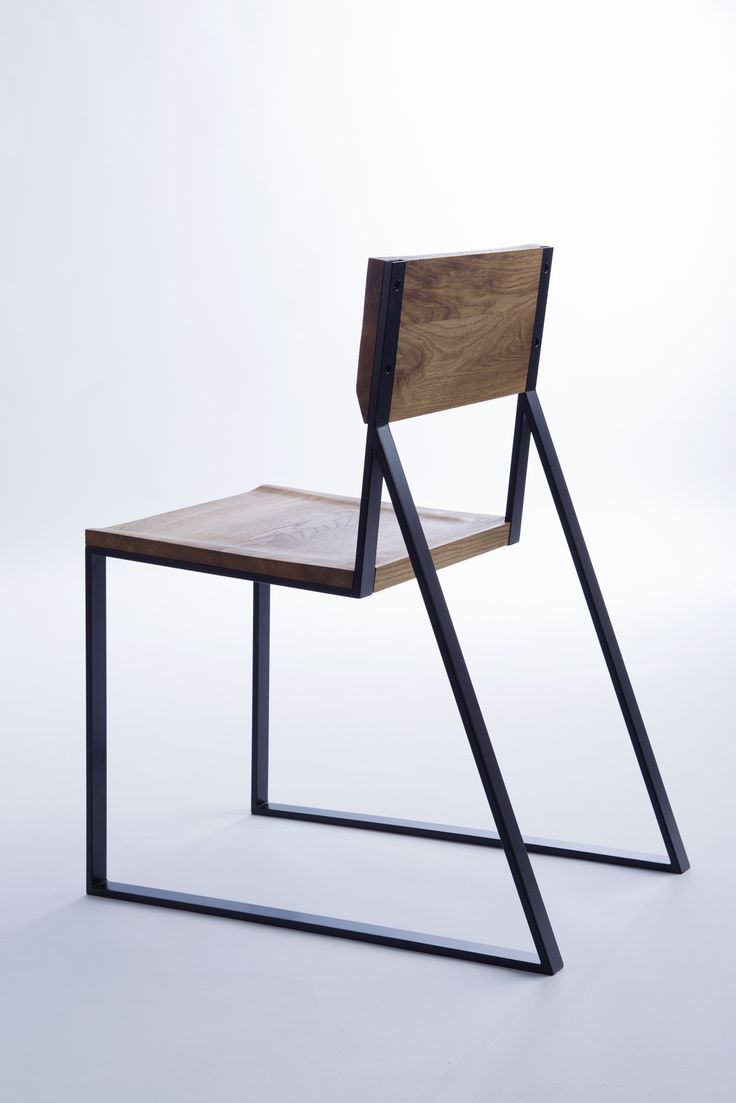 Best 25 wood steel ideas on pinterest wood table steel for Industrial design chair