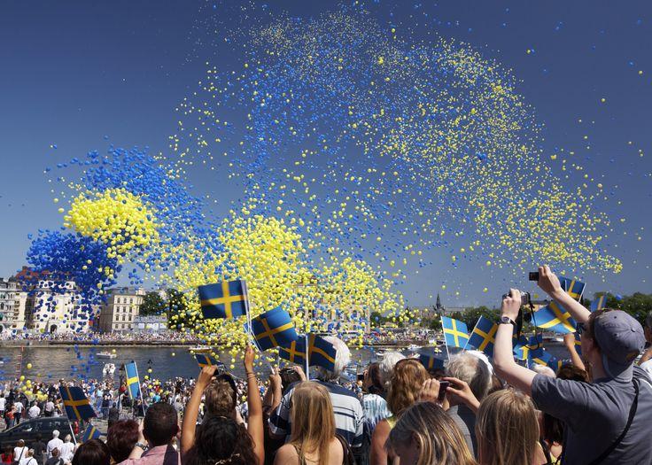 Sweden celebrating its National Day on June 6. Copyright: Ola Ericson/imagebank.sweden.se