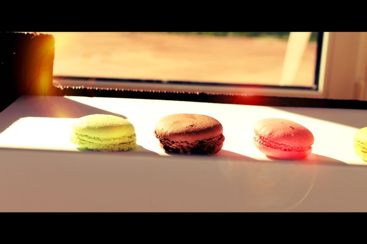 Macaron film style photo by mymacaronrecipe.com