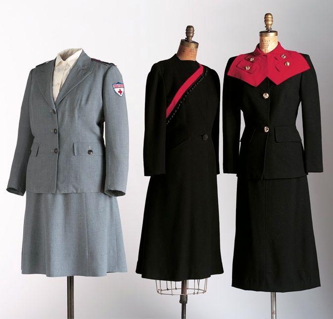 Uniforms of American Red Cross, 1940's