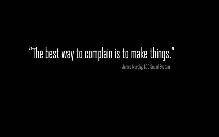 Set an example.