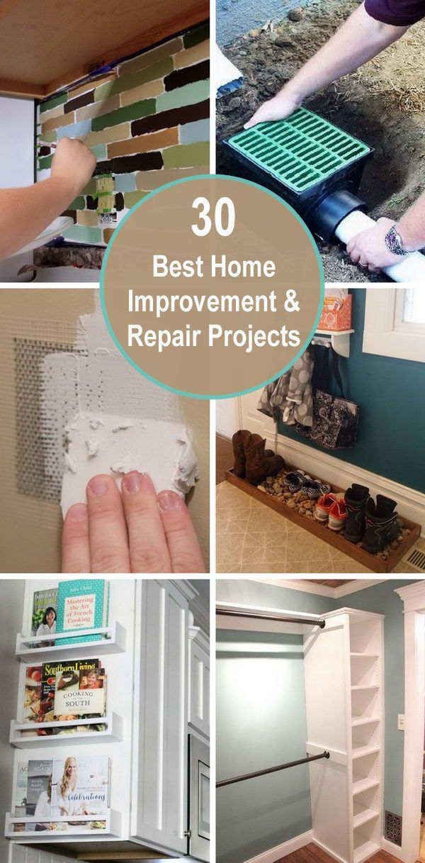 30 Best Home Improvement And Repair Projects Home Improvement Diy Home Repair Home Improvement Loans