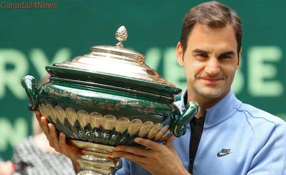 Federer beats Zverev for record 9th Gerry Weber Open title