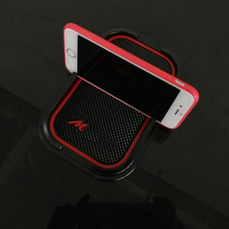 Rubber phone mat GPS Stents Mat Car Accessories For Porsche macan S Diesel GTS T…