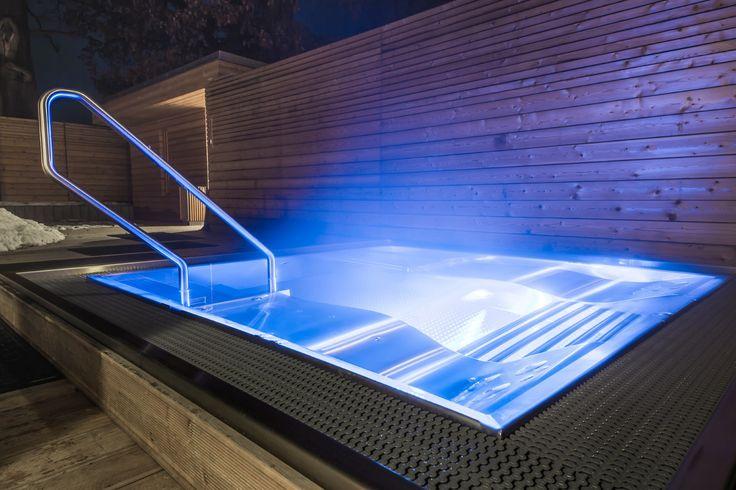 Stainless steel spa Imaginox in hotel wellness