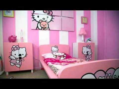 hello kitty bedroom ideas meow wall art kids httpwallartkids