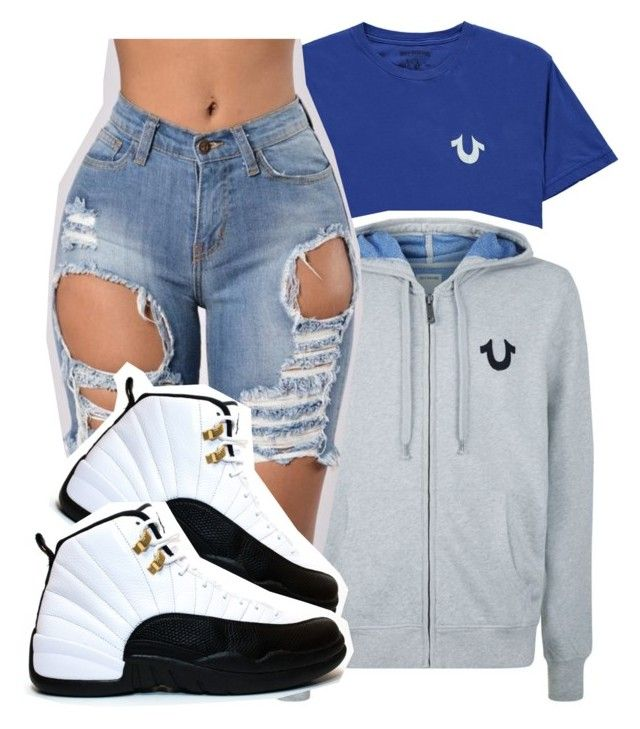 """d"" by pinksemia ❤ liked on Polyvore featuring True Religion and TAXI"