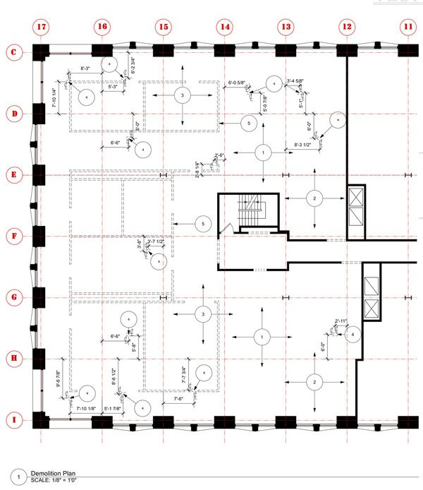 Construction Documents Demolition Plans Pinterest Construction