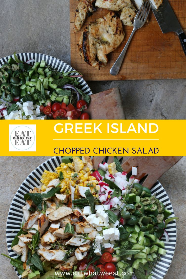 This Greek Island chicken is incredibly juicy and flavoursome with a sweet and savoury honey garlic and lemon marinade. The salad is an abundant platter packed full fresh, healthy and vibrant ingredients.