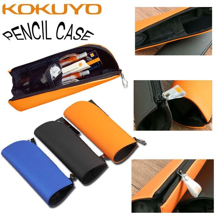 12.87$  Buy here - KUKUYO Pencil Cases For Girls Boy Japan Capacity Pencil PU Roll Up School Cute Zipper Pencil Bag Box Kawaii For School Supplies  #bestbuy