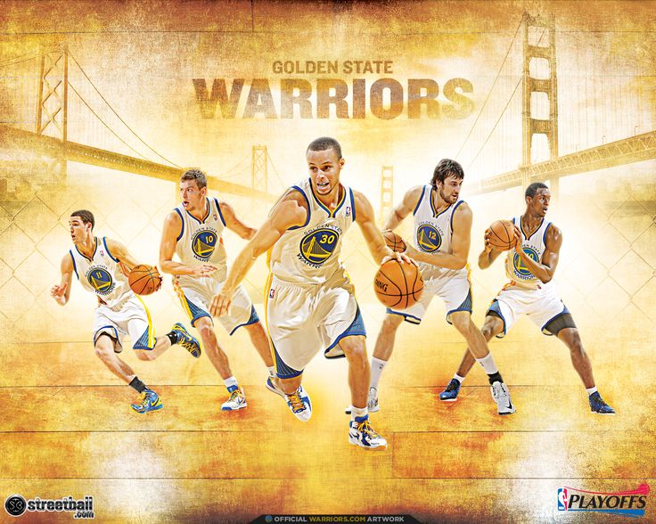 NBA Playoffs Golden State Warriors Wallpapers - Streetball