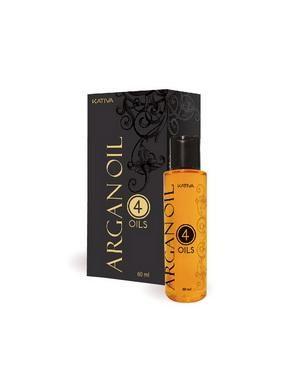 """Восстанавливающий защитный концентрат для волос Kativa """"4 масла"""" ARGAN OIL, 60мл"""