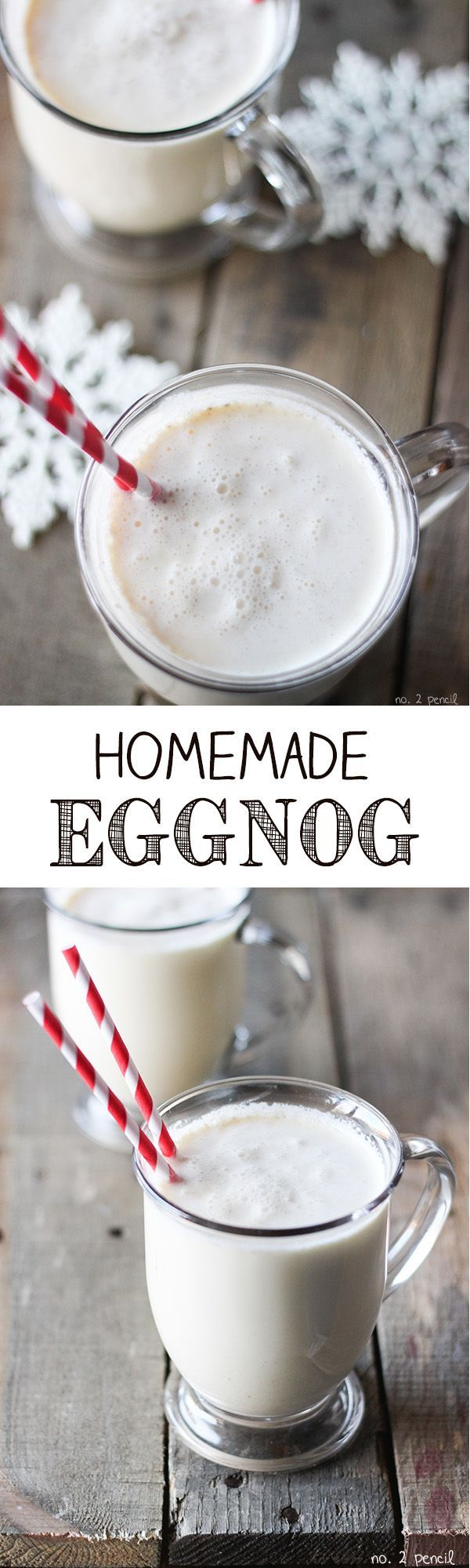 Easy homemade eggnog recipe homemade winter holidays and banana bread - Traditional eggnog recipe holidays ...
