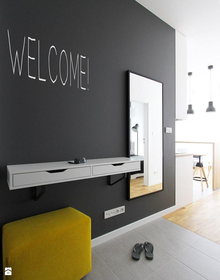 MIESZKANIE ESPRESSO - Hol / przedpokój, styl nowoczesny - zdjęcie od BE2 Studio