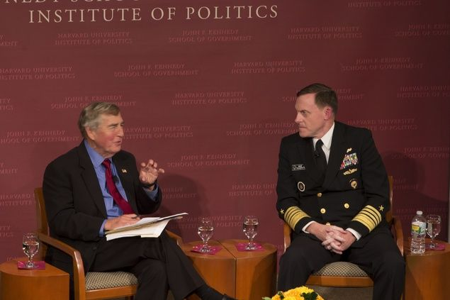 Director of the NSA Discusses Future of International Cyber Security | News | The Harvard Crimson