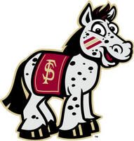 Florida State's new cartoon mascot. Ponies, everywhere ponies.