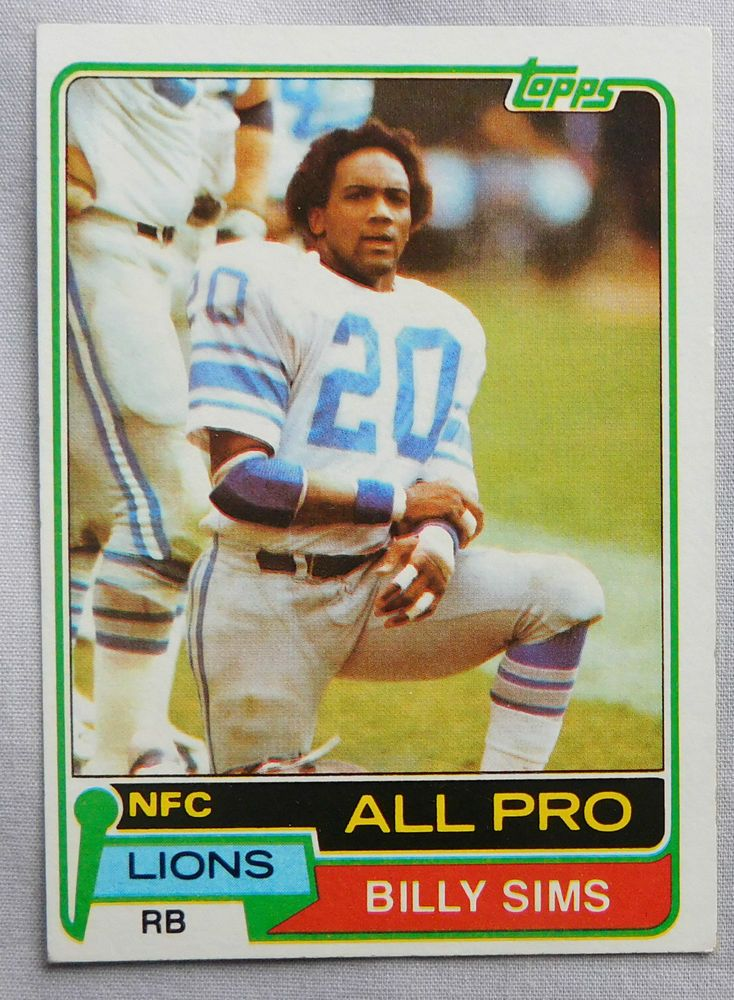 Think, Billy sims lions lick
