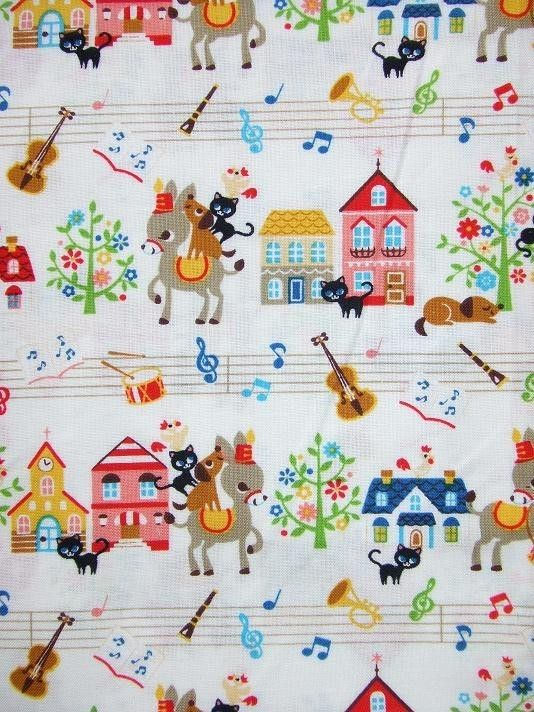 Bremen Town Musicians - cute for a music bag/notebook cover