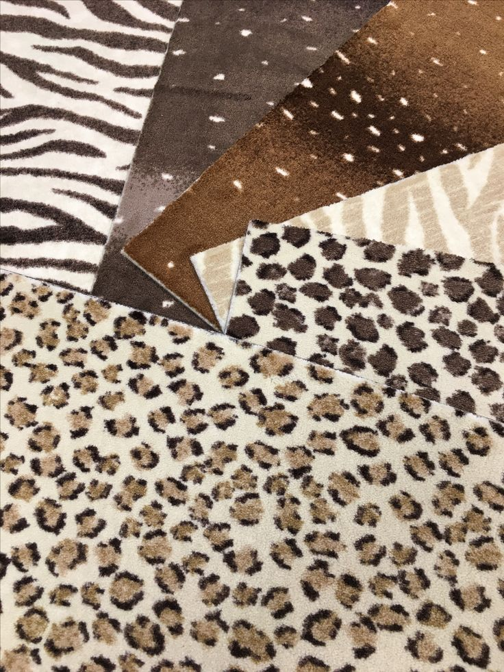 These Nylon Animal Patterned Pieces Can Be Installed Wall To Wall, Made Into