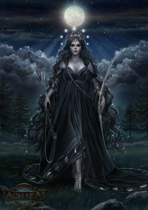 Image | Ourania, Goddess of the Moon