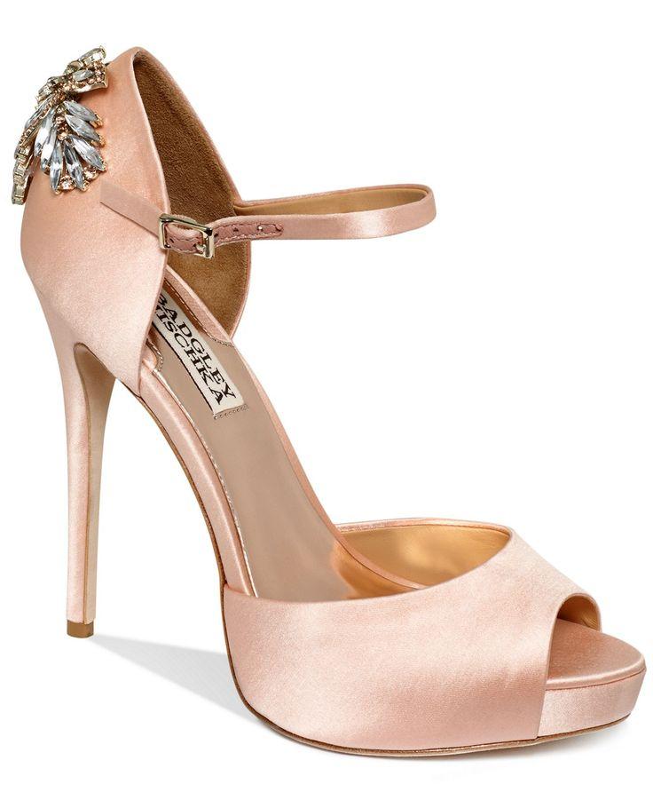 Badgley Mischka Shoes, Nessa High Heel Evening Pumps - Evening & Bridal - Shoes - Macys