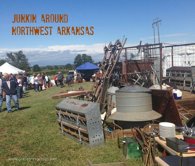 Northwest Arkansas is junkin heaven. There are several places I love to visit. Some within walking distance from our house! Come w/ me and see what I mean!