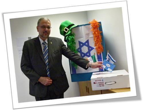 Israeli Ambassador to Ireland voting in Israeli Elections