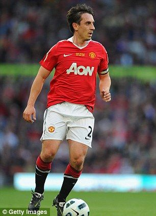 Gary Neville was part of United's Class of 92'