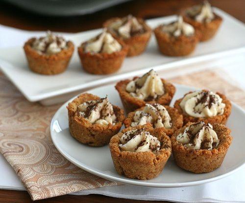 Low Carb Tiramisu Cookie Cups