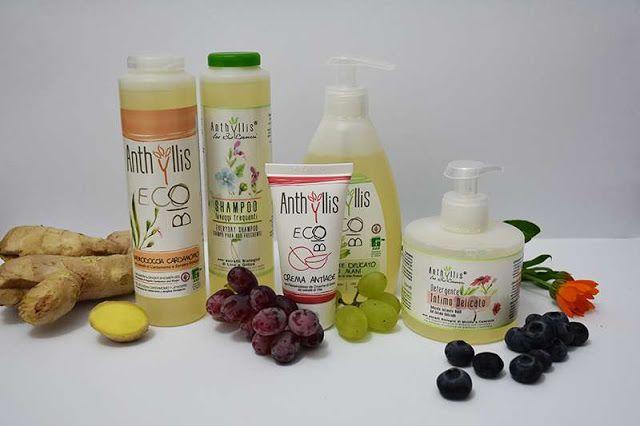 All my cosmetics: Italská bio kosmetika Anthyllis