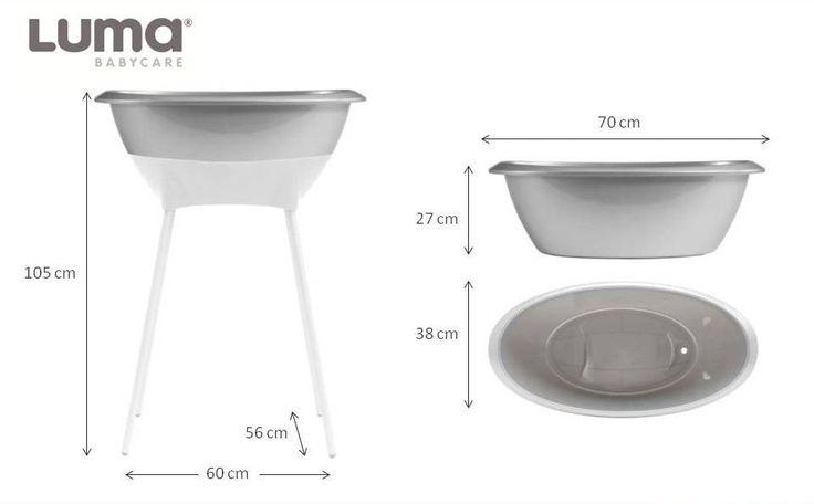 Resultado de imagen de medidas bañera luma