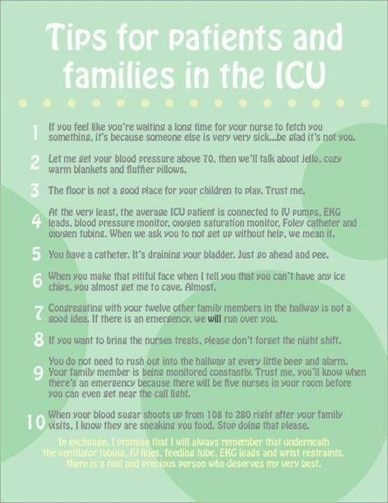 icu rules - What Makes A Good Icu Nurse
