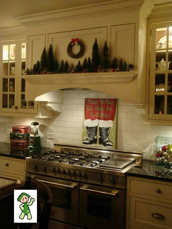 ideas para decorar tu cocina muy navidea