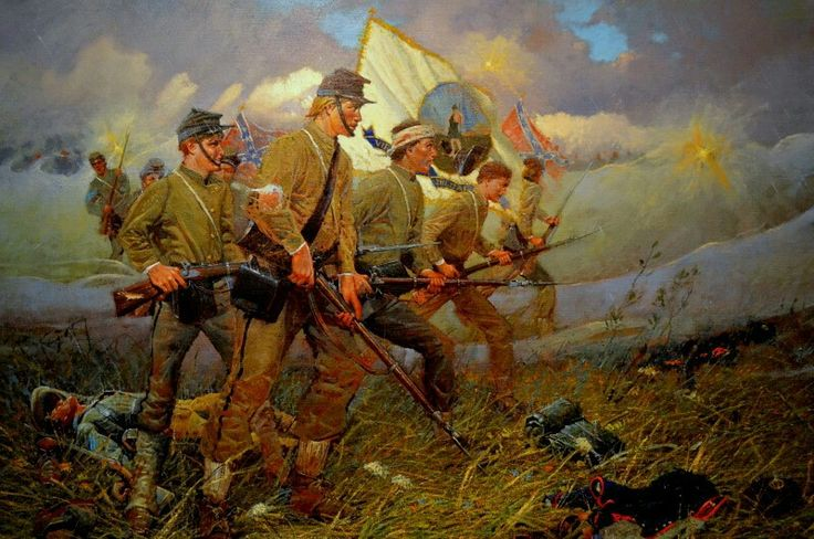 The Battle of New Market, VMI the Virginia Military Institute cadets.