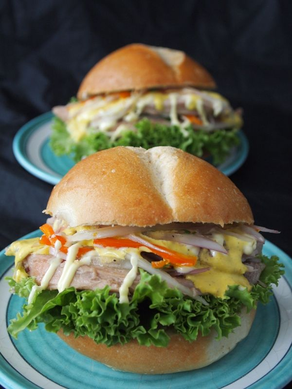 Hearty Turkey Sandwich, a Great Way to Use Holiday Leftovers // Peru Delights