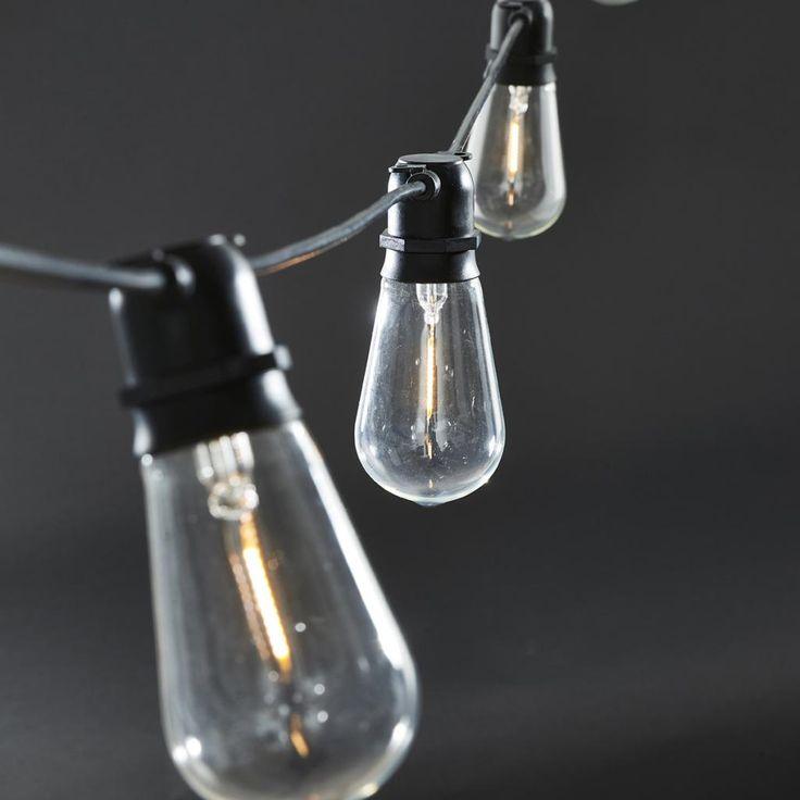 Cool Lichterkette Function Schwarz M LED Lampen House Doctor