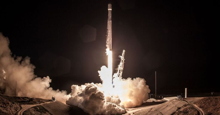 SpaceX is about to launch two of its space internet satellites  the first of nearly 12000   Now that the dust has settled from SpaceXs first Falcon Heavy mission the company is getting back to its routine with another Falcon 9 launch. The rocket is slated to take off from California this morning sending up an Earth-observation satellite called Paz for Spain. But the vehicle will also have two additional satellites hitchhiking along for the ride: prototype probes built by SpaceX to test out…