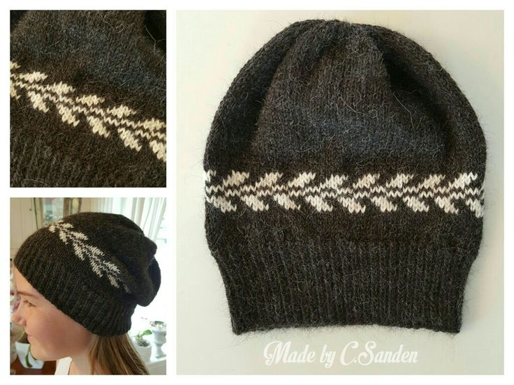 Knitted hat - april 2016