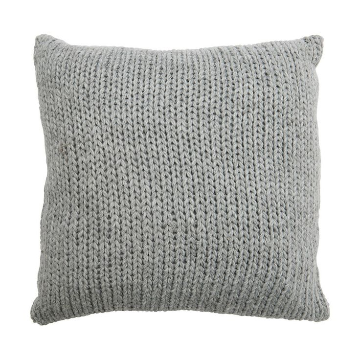 Knit Cushion - Grey | Kmart