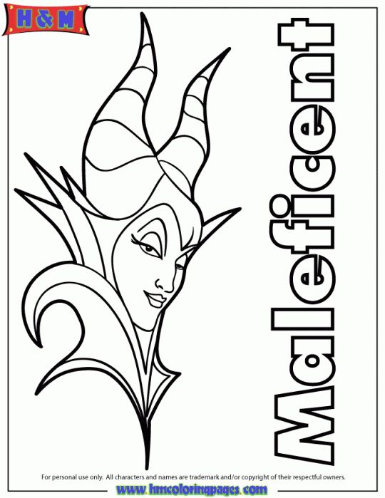 Disney's Maleficent Free Printables, crafts and coloring